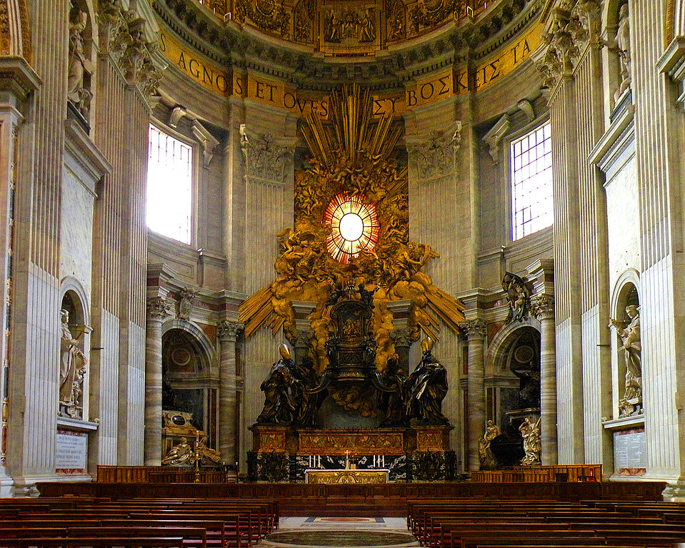 The_Chair_of_Saint_Peter